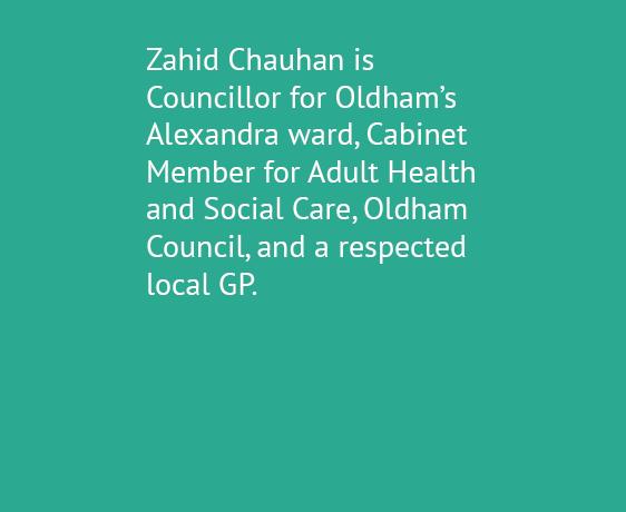 Zahid Chauhan, OBE